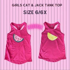 Girls sequence Cat & Jack Watermelon Lemon Tank